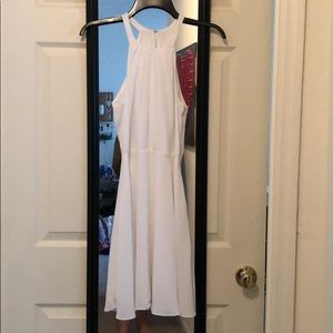 BRAND NEW White halter dress